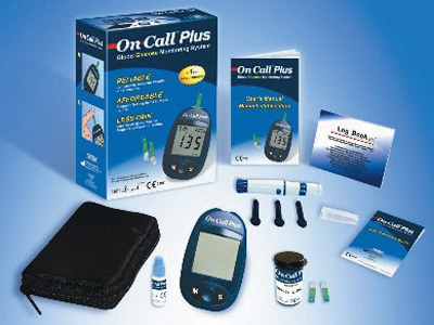 GLUCOSE MONITOR PLUS - kit (mg/dl) - italian/greek