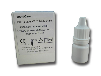 MULTICARE TRIGLYCERIDES CONTROL SOLUTION