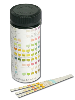 11 PARAMETER STRIP - tube of 50 strips