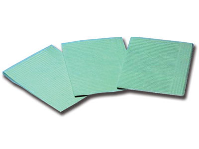 FOLDED NAPKINS 33 x 45 cm - green