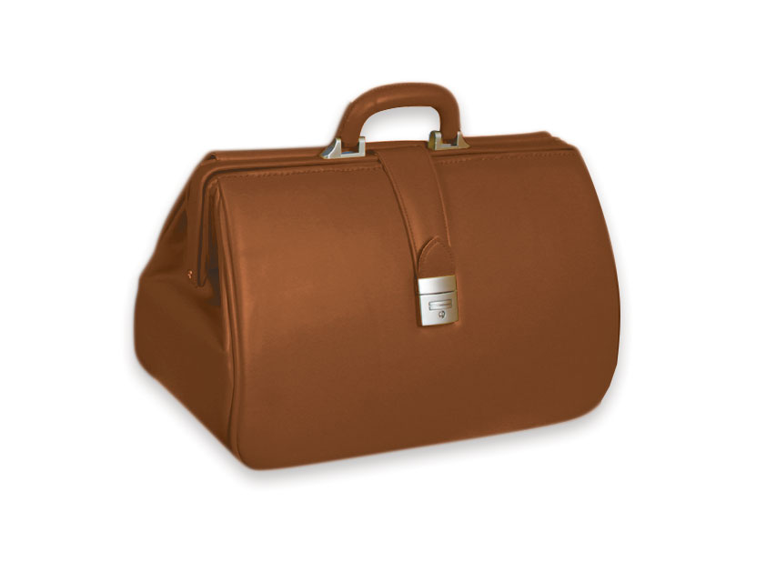 KANSAS SKAY MEDICAL BAG - brown