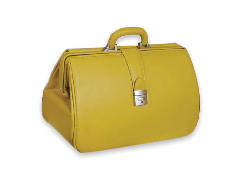 KANSAS SKAY MEDICAL BAG - ochre