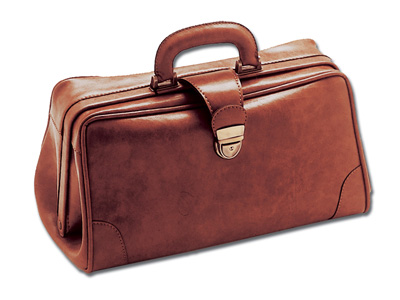 INFERMIERA SKAY MEDICAL BAG - cognac