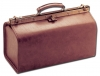 LARGE POLUS SKAY MEDICAL BAG - cognac