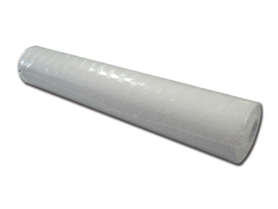 EMBOSSED POLYTHENE ROLL - 50 cm x 50 m - white