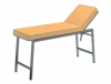 CLASSIC EXAMINATION COUCH - chromed - apricot 717