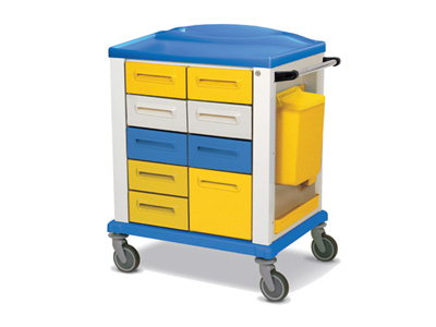 BASIC TROLLEY - standard - 9 drawers