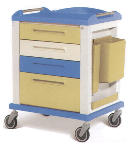 BASIC TROLLEY - standard - 4 drawers