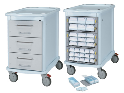 CARRELLO FARMACIA DOUBLE FACE