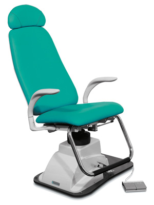 OTO/PV ENT CHAIR with head support - green Marbella