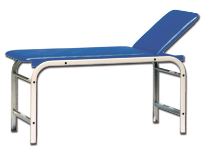 KING EXAMINATION COUCH - blue
