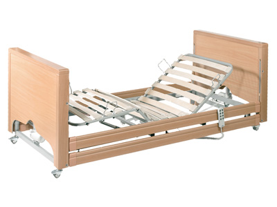 SPECIALISTIC LOW BED - with Trendelenburg - 23-63 cm