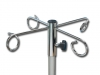 METAL SUPPORT FOR BOTTLE HOLDER - 4 hooks