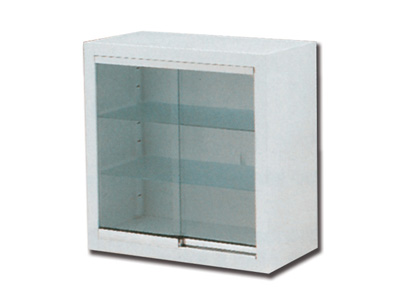 WALL CABINET - glass sliding doors
