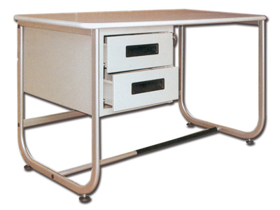 DESK 130 x 71 cm - with 2 drawers