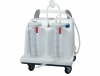TOBI CLINIC SUCTION ASPIRATOR - 2x4l - 230V - with footswitch