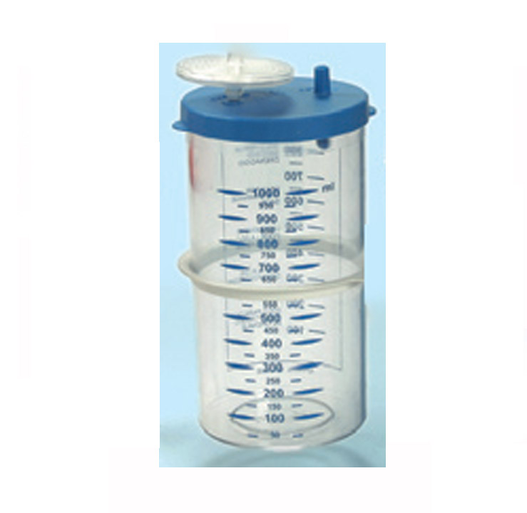 AUTOCLAVABLE JAR 1000m (with cover)