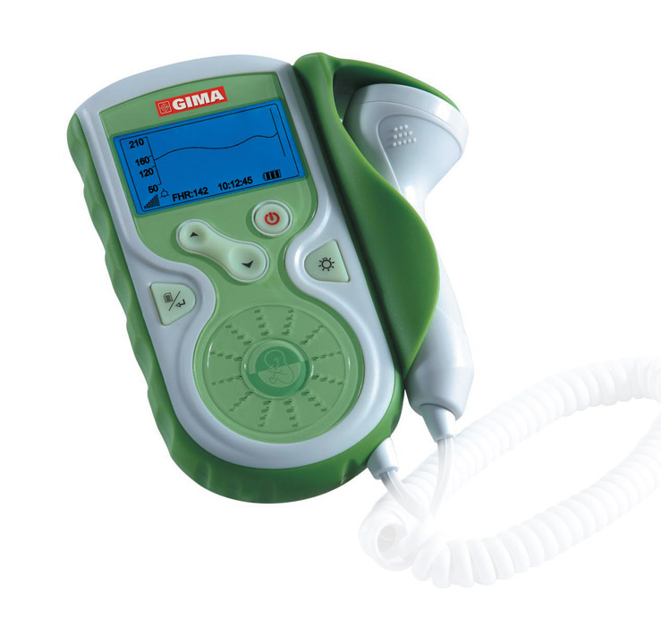 BABY SOUND GIMA FOETAL DOPPLER - with display and interchangeable 1MHz probe