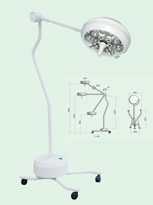 PENTALED 30 MINOR SURGERY LED LAMP - mobile stand