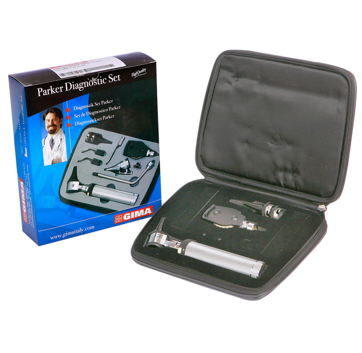 HALOGEN OTO-OPHTHALMOSCOPE PARKER SET