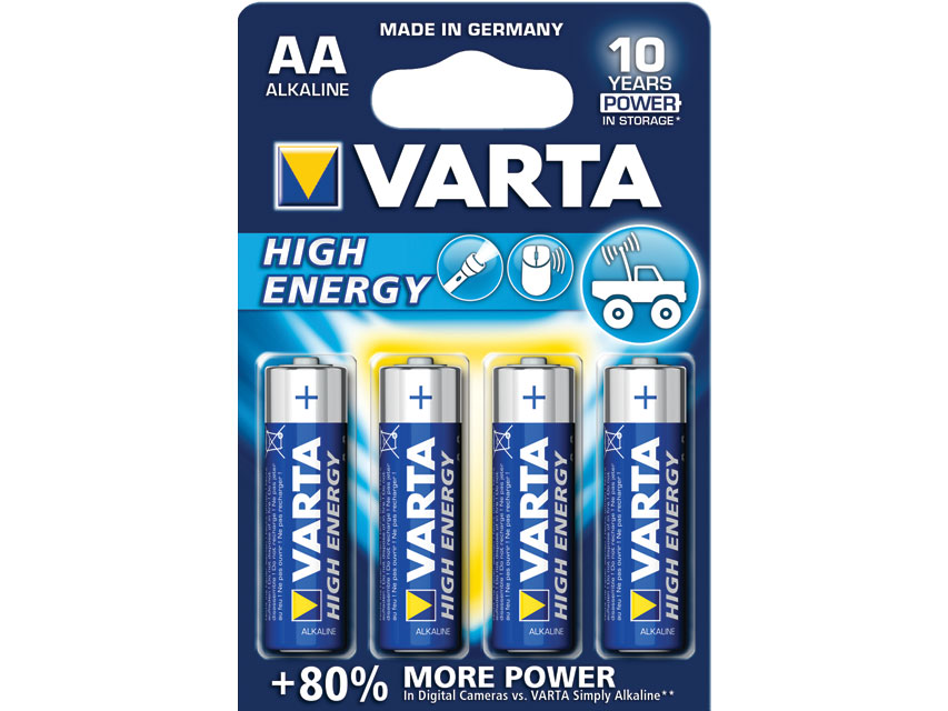 VARTA ALKALINE HIGH ENERGY BATTERY - stilo