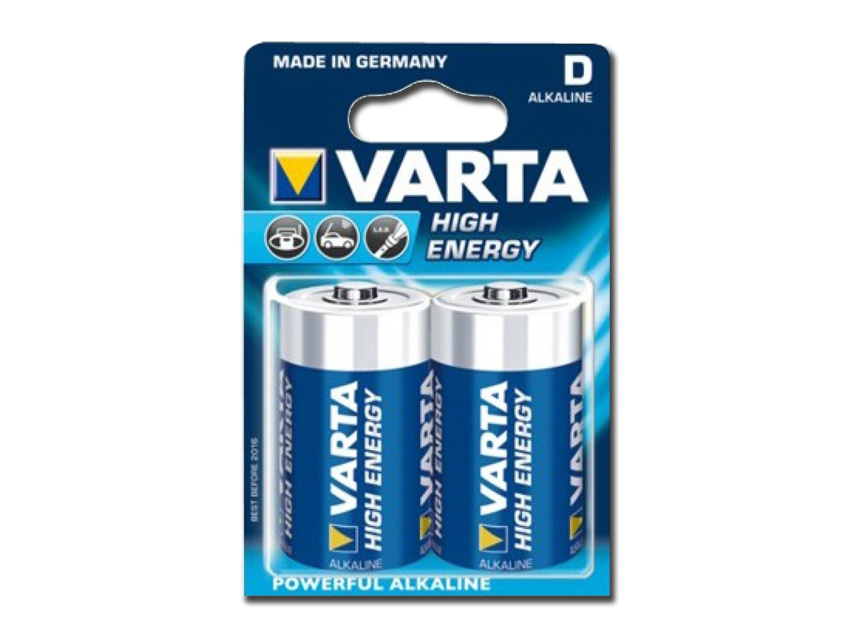 VARTA ALKALINE HIGH ENERGY BATTERY - torch
