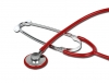 TRAD SINGLE HEAD STETHOSCOPE - red