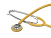 TRAD SINGLE HEAD STETHOSCOPE - yellow