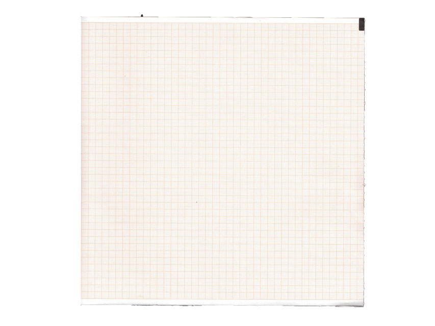 ECG THERMAL PAPER PACK - 210 x 300 mm - orange grid