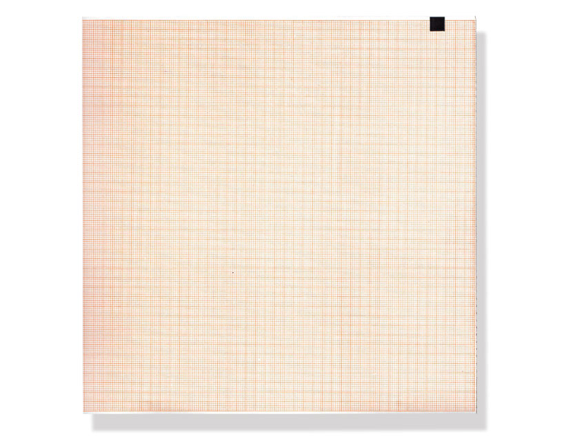 ECG THERMAL PAPER PACK - 210 x 195 mm - orange grid