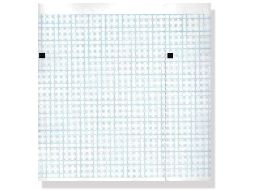 ECG THERMAL PAPER PACK - 210 x 150 mm - blue grid