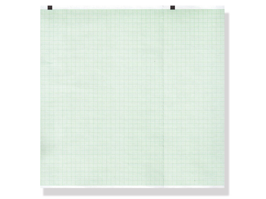 ECG THERMAL PAPER PACK - 210 x 140 mm - green grid