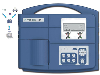 VETERINARY ECG VE-100 - 1 channel