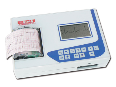 CARDIOGIMA 1 M - 1-3 channel ECG - with monitor