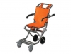 EVACUATION CHAIR - orange/chrome