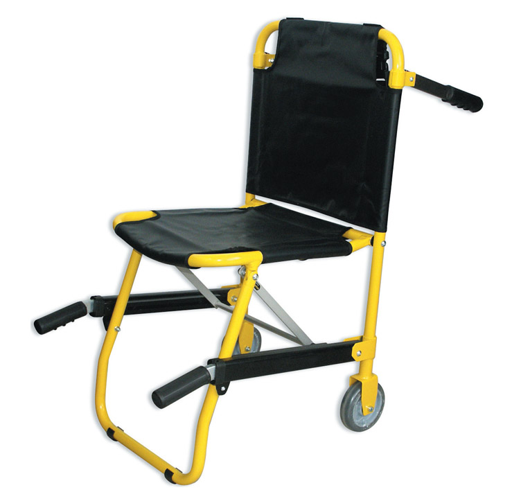 FOLDING CHAIR - black/yellow