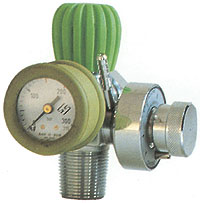 INTEGRATED PRESSURE REDUCER - UNI valve - for 5/7 l cylinders