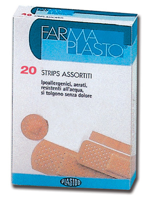 HYPOALLERGENIC ADHESIVE PLASTERS - water resistant - 4 mixed sizes