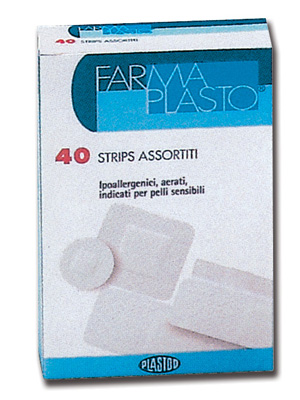 HYPOALLERGENIC ADHESIVE PLASTERS - Sensitive skin - 5 mixed sizes