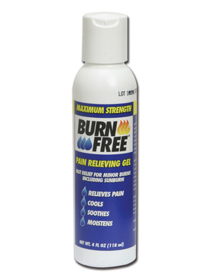 BURNFREE PAIN RELIEVING GEL - bottle 118 ml