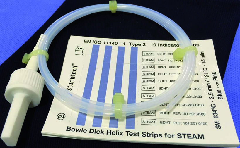 BOWIE DICK HELIX TEST