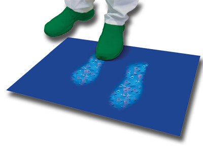 DECONTAMINATING MAT - 45 x 115 cm - blue