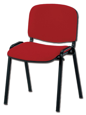 ISO CHAIR - fabric - red (TN 050)