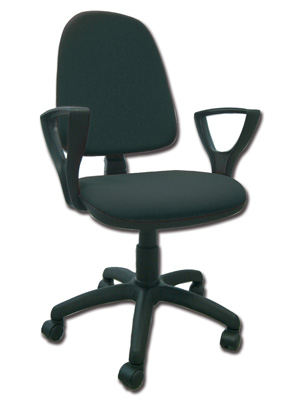 CUNEO CHAIR- leatherette - black - fireproof (FP 065)