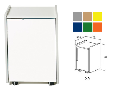 DRAWER S5 - color on demand (grey, beige, yellow, blue, green, orange)
