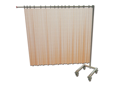 TROLLEY FOR 1 CURTAIN - foldable - without curtain