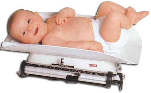 SECA 725 BABY SCALE - mechanical