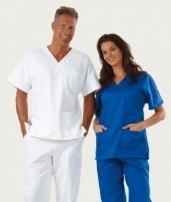 Completo ospedaliero unisex con scritta ricamata in 5 nuovi colori 80d77550c2e1