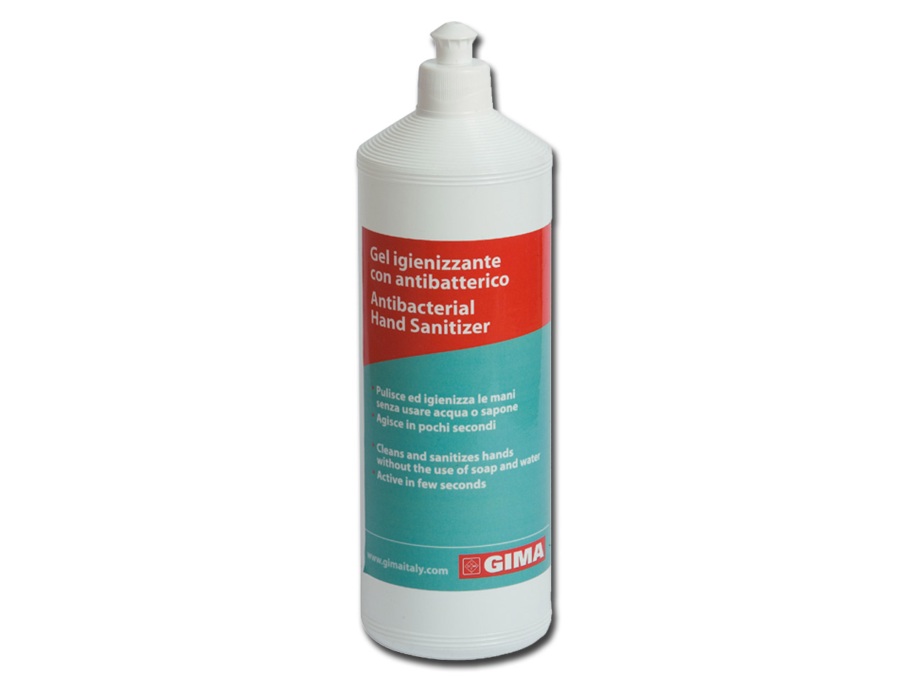 ANTIBACTERIAL HAND CLEANING GEL - 1 l - transparent