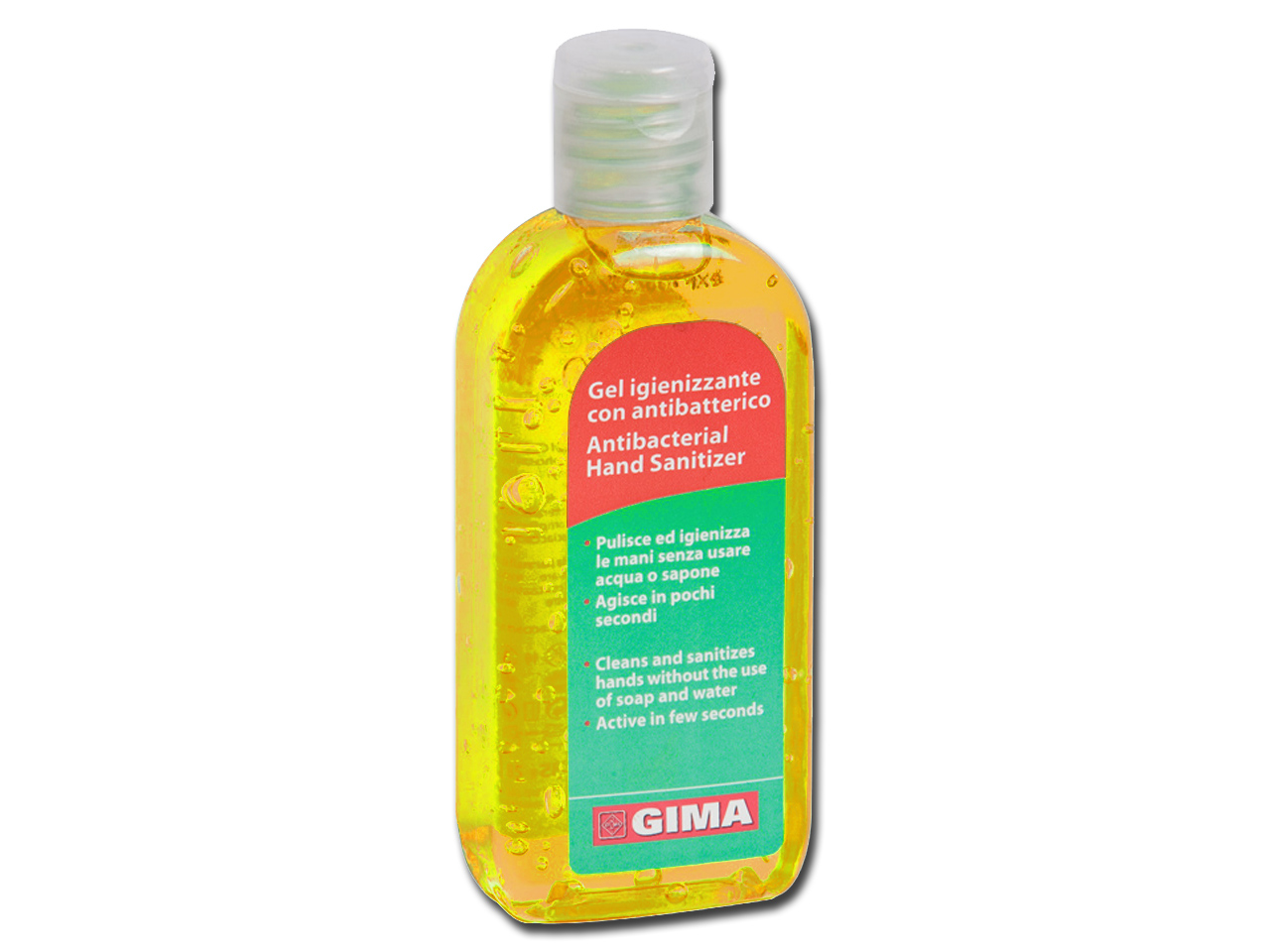 ANTIBACTERIAL HAND CLEANING GEL - 85 ml - yellow lemon